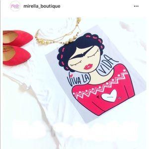 Viva la Vida! Shirt 👚 S, M, L and XL